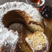 Another delight Ozlem made on the day was this delicious and moist Turkish Marble Tea Cake